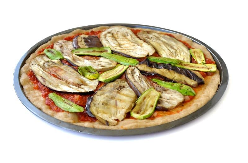 ανατολικός μέσος χορτοφάγος πιτσών στοκ φωτογραφία