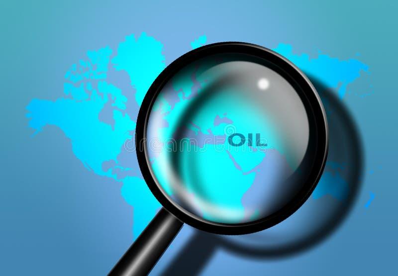 ανατολικό μέσο πετρέλαι&omicron ελεύθερη απεικόνιση δικαιώματος