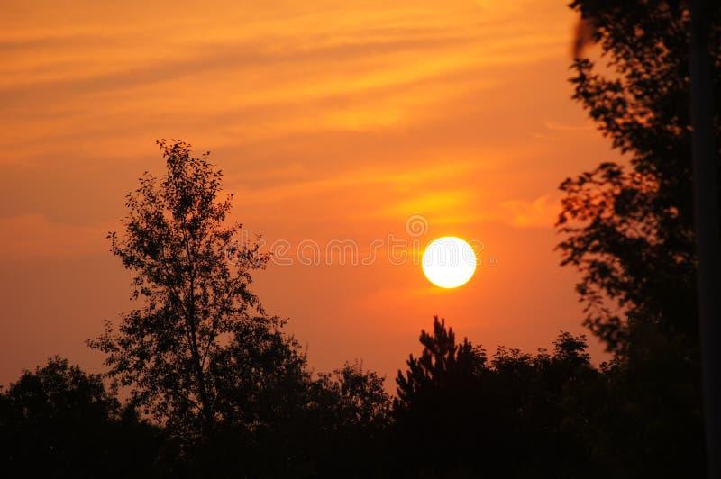 Ανατολή καψίματος Κολοράντο στοκ εικόνες με δικαίωμα ελεύθερης χρήσης