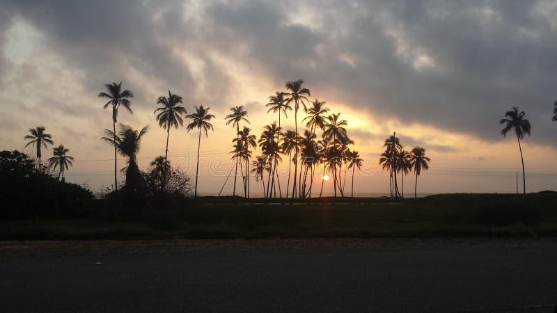 ανατολή παραλιών στοκ εικόνα με δικαίωμα ελεύθερης χρήσης