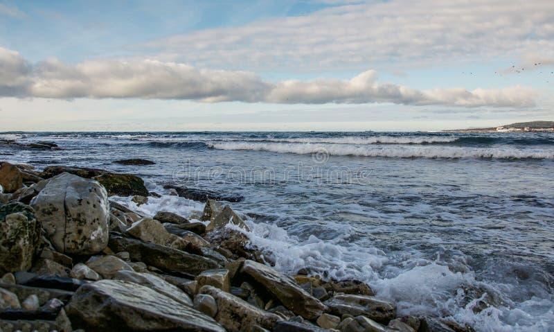 ανατολή σκαφών θάλασσας ανασκόπησης στοκ φωτογραφία με δικαίωμα ελεύθερης χρήσης