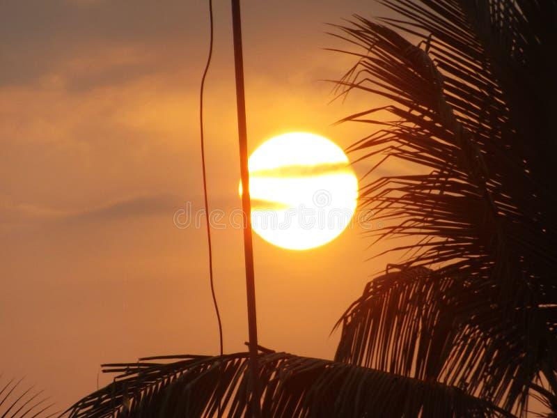 Ανατολή στη Σρι Λάνκα στοκ φωτογραφία