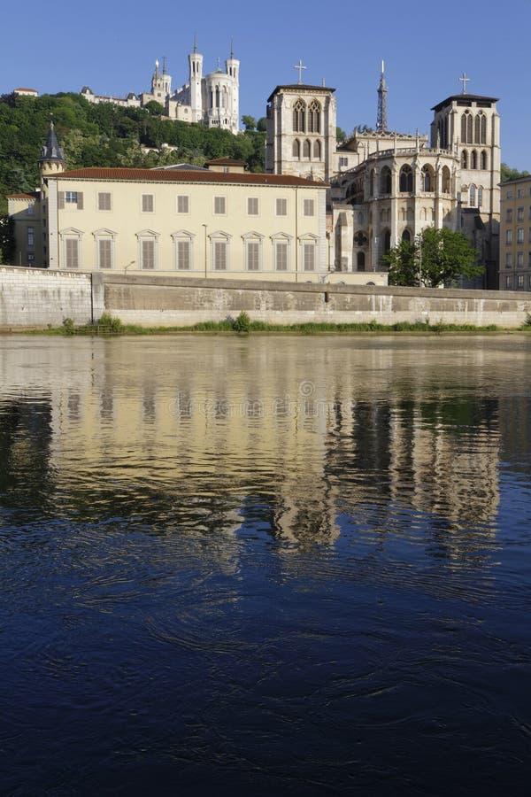 Ανατολή στον καθεδρικό ναό Άγιος-Jean στοκ εικόνες