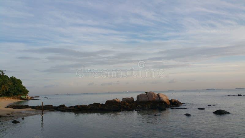 Ανατολή στο παραθαλάσσιο θέρετρο Turi στοκ εικόνα με δικαίωμα ελεύθερης χρήσης