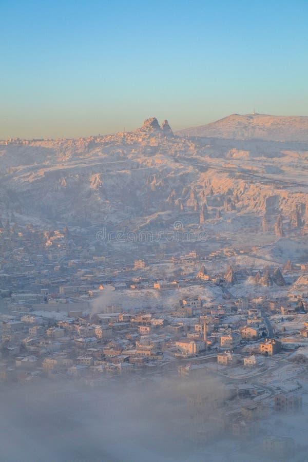 Ανατολή Capadoccia στοκ φωτογραφία