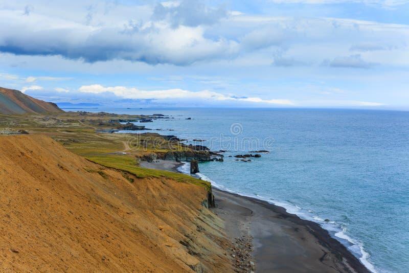 Ανατολικά φιορδ Ισλανδία στοκ εικόνες