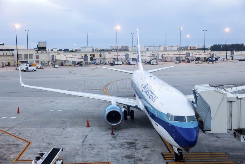 Ανατολικό αεροπλάνο γραμμών αέρα στοκ φωτογραφίες με δικαίωμα ελεύθερης χρήσης