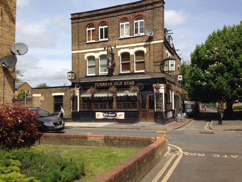 Ανατολικό μπαρ αστεριών του Turner σε Wapping Λονδίνο στοκ φωτογραφία