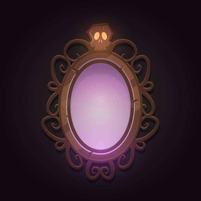 Ανατριχιαστικός καθρέφτης απεικόνιση αποθεμάτων