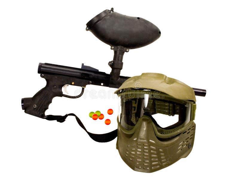 αναψυχή πυροβόλων όπλων Paintball Στοκ Εικόνα