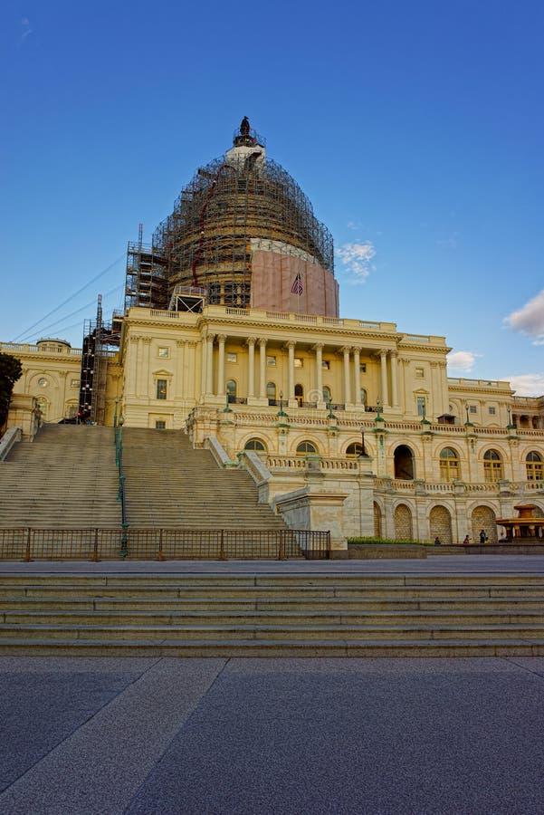 Αναδημιουργία των Ηνωμένων Πολιτειών Capitol στοκ εικόνες