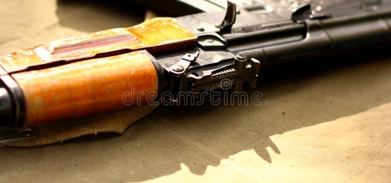 Αναδρομικά πυροβόλα όπλα τουφεκιών όπλων της ΕΣΣΔ στοκ εικόνες