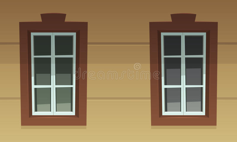 αναδρομικά Windows διανυσματική απεικόνιση