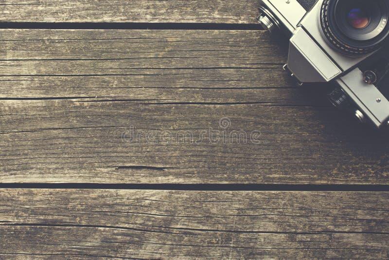 Αναδρομική αναλογική κάμερα στοκ φωτογραφίες
