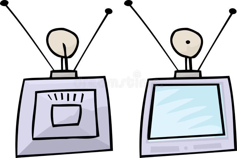 Αναδρομική συσκευή τηλεόρασης απεικόνιση αποθεμάτων