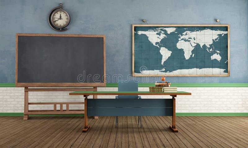 Αναδρομική τάξη χωρίς σπουδαστή απεικόνιση αποθεμάτων