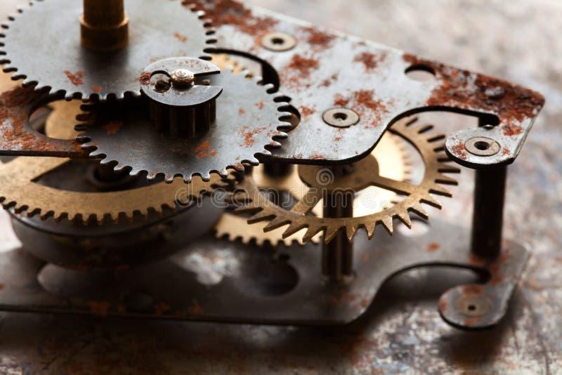 Αναδρομικό αντικείμενο σχεδίου τεχνολογίας μηχανικό με το σύστημα σύνδεσης εργαλείων βαραίνω Η εκλεκτής ποιότητας τεχνολογία κυλά στοκ εικόνες