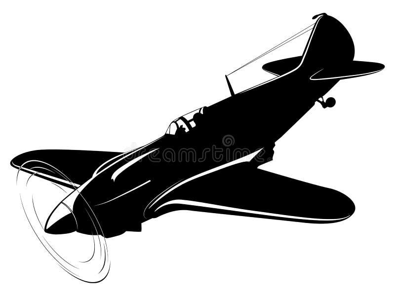 αναδρομικό διάνυσμα εγγράφου ανασκόπησης αεροπλάνων ελεύθερη απεικόνιση δικαιώματος