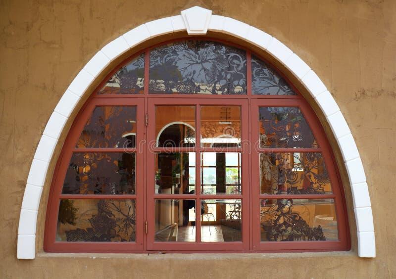 Αναδρομικό παράθυρο σχεδίου στοκ φωτογραφία με δικαίωμα ελεύθερης χρήσης