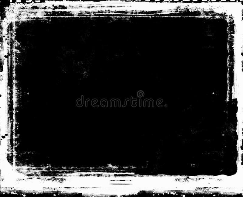 Αναδρομικό πλαίσιο ύφους Grunge για τα προγράμματά σας διανυσματική απεικόνιση
