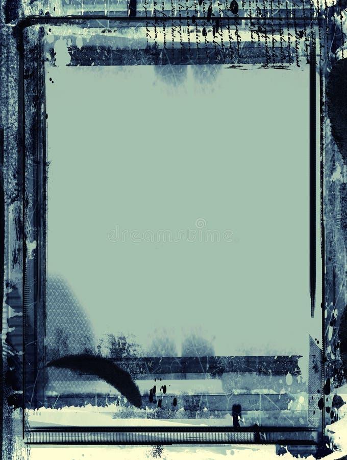 Αναδρομικό πλαίσιο ύφους Grunge για τα προγράμματά σας στοκ φωτογραφίες