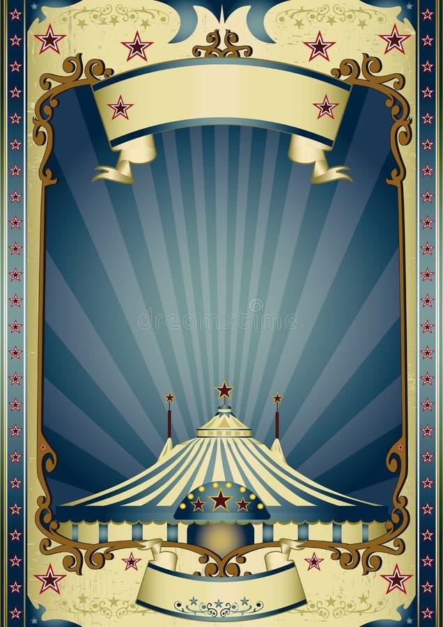 Αναδρομικό τσίρκο ψυχαγωγίας στοκ φωτογραφίες με δικαίωμα ελεύθερης χρήσης