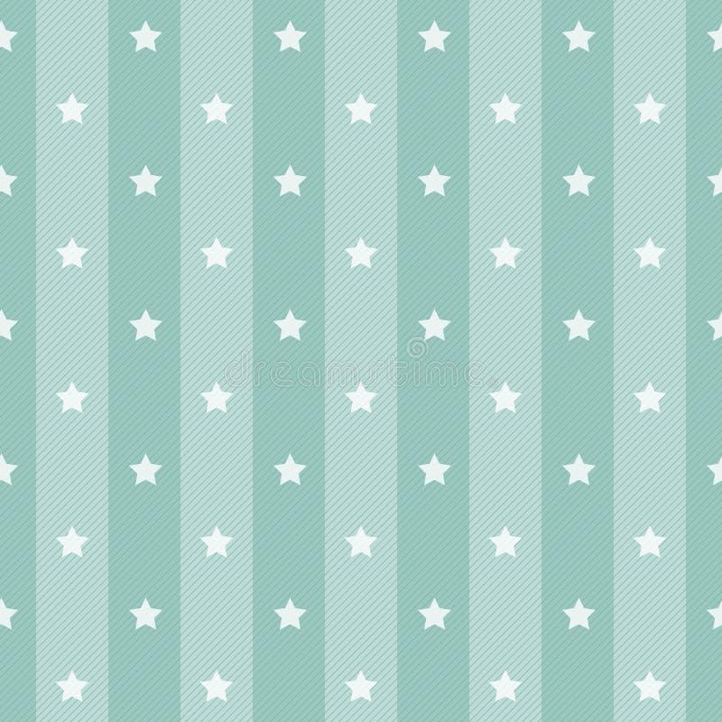 Αναδρομικό υπόβαθρο αστεριών Πόλκα διανυσματική απεικόνιση