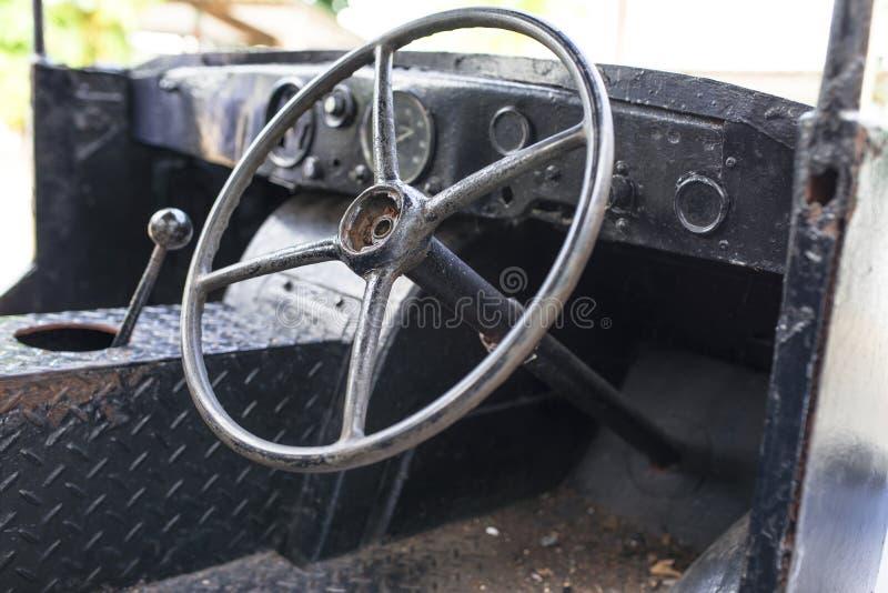 Αναδρομικό όχημα στοκ εικόνες