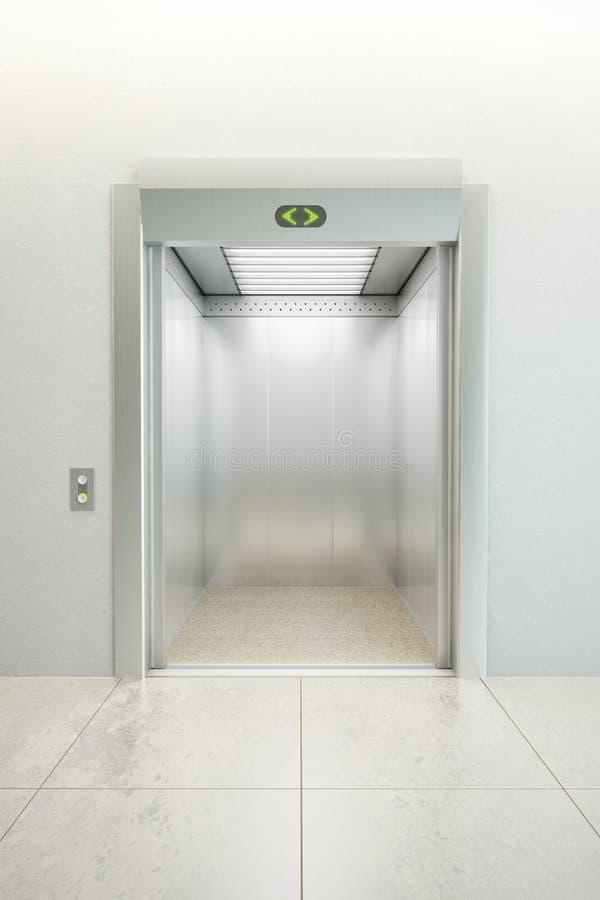 ανελκυστήρας σύγχρονο&sigm ελεύθερη απεικόνιση δικαιώματος