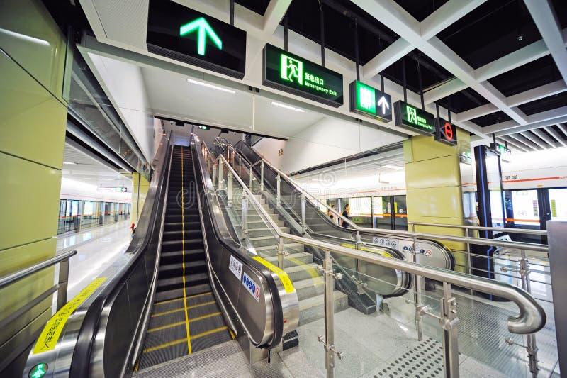 Ανελκυστήρας υπογείων στοκ φωτογραφία