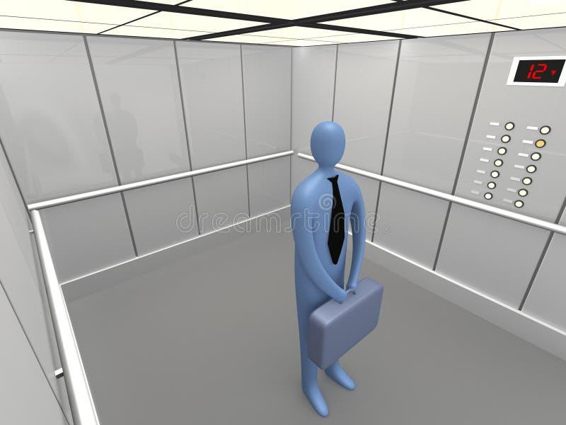 ανελκυστήρας 3 απεικόνιση αποθεμάτων