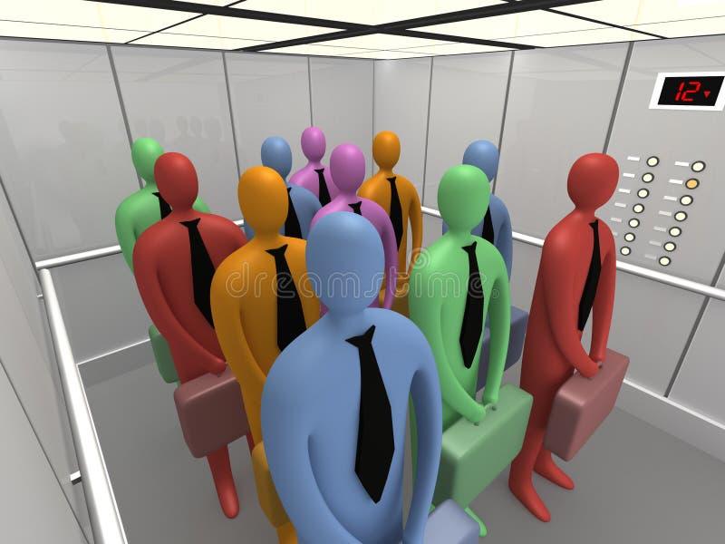 ανελκυστήρας 4 ελεύθερη απεικόνιση δικαιώματος