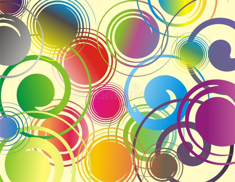 Ανεμοστρόβιλος χρωμάτων στοκ εικόνες με δικαίωμα ελεύθερης χρήσης