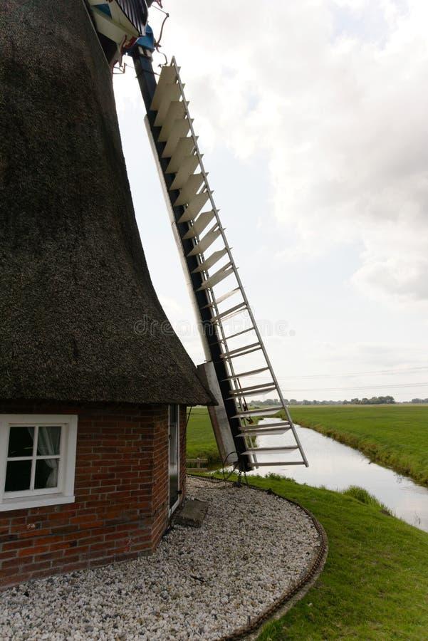 Ανεμόμυλος Γκρόνινγκεν Κάτω Χώρες στοκ εικόνες
