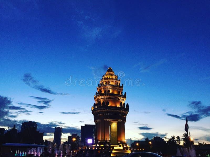 Ανεξάρτητο μνημείο στοκ φωτογραφία με δικαίωμα ελεύθερης χρήσης