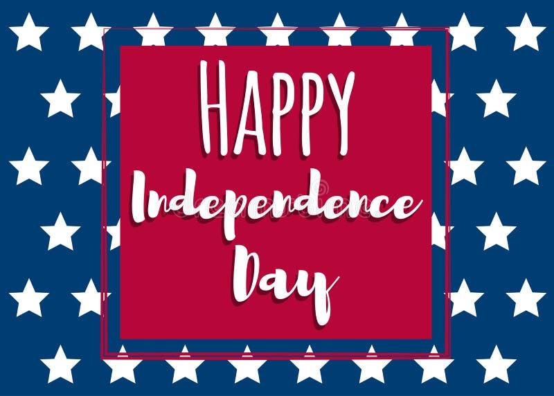 Ανεξαρτησία ημέρα-01 απεικόνιση αποθεμάτων