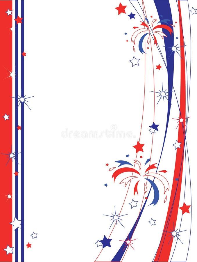 ανεξαρτησία πλαισίων ημέρα& διανυσματική απεικόνιση