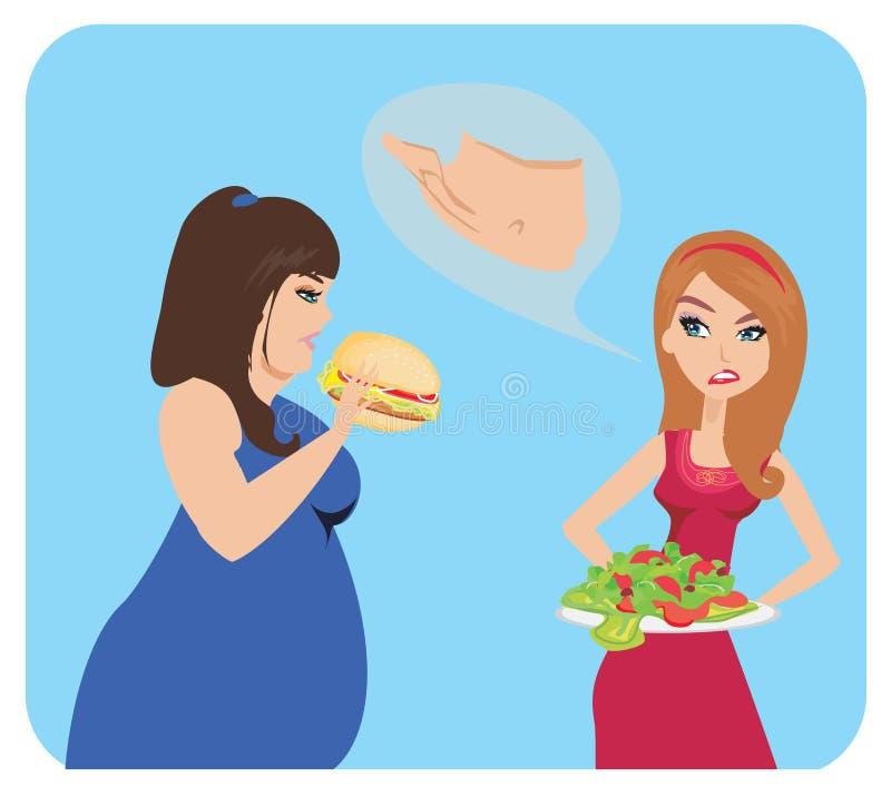 Ανεπιτυχής διατροφή απεικόνιση αποθεμάτων
