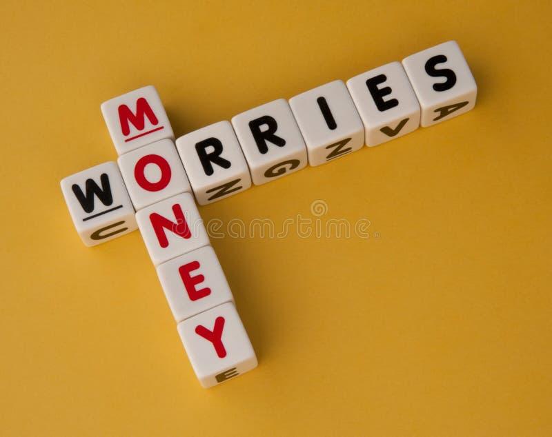 Ανησυχίες χρημάτων στοκ φωτογραφία