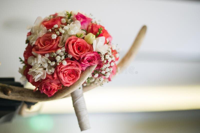 Ανθοδέσμη λουλουδιών νυφών στοκ εικόνα με δικαίωμα ελεύθερης χρήσης