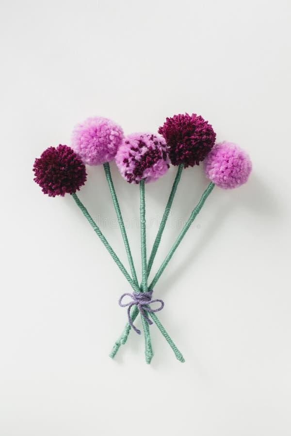 Ανθοδέσμη λουλουδιών Pom Pom στοκ εικόνες