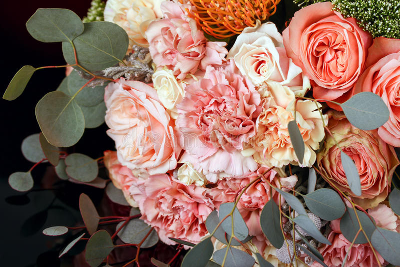 Ανθοδέσμη των τριαντάφυλλων στοκ φωτογραφία