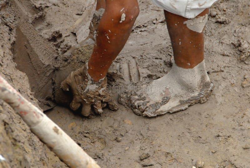 ανθρακωρύχος Περού στοκ εικόνα με δικαίωμα ελεύθερης χρήσης