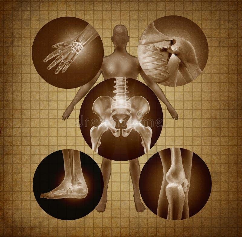 Ανθρώπινη έννοια ενώσεων απεικόνιση αποθεμάτων