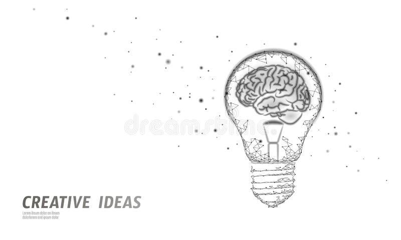 Ανθρώπινη έξυπνη επιχειρησιακή έννοια ΔΕΙΚΤΗ ΝΟΗΜΟΣΎΝΗΣ εγκεφάλου Ε-μαθαίνοντας nootropic συμπλήρωμα φαρμάκων braingpower Δημιουρ ελεύθερη απεικόνιση δικαιώματος