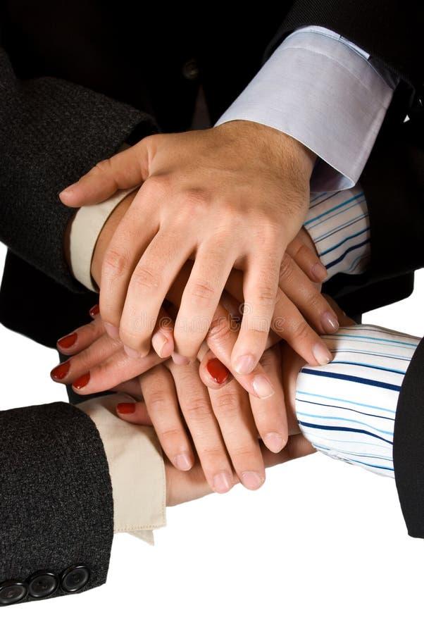 Ανθρώπινη ενότητα χεριών στοκ φωτογραφία με δικαίωμα ελεύθερης χρήσης