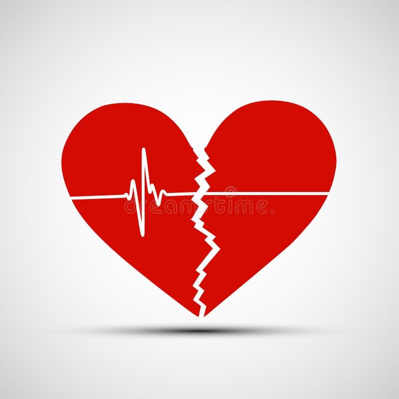 Ανθρώπινη καρδιά πορτοκαλί απόθεμα απεικόνισης ανασκόπησης φωτεινό απεικόνιση αποθεμάτων
