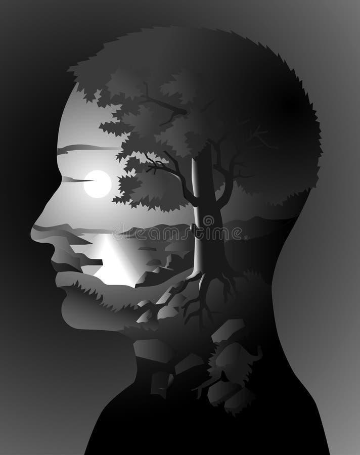 ανθρώπινη φύση ελεύθερη απεικόνιση δικαιώματος