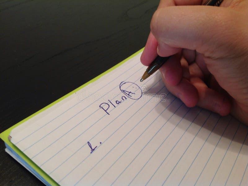 Ανθρώπινος τίτλος σχεδίων Α γραψίματος χεριών σε ένα φύλλο εγγράφου στοκ φωτογραφία με δικαίωμα ελεύθερης χρήσης