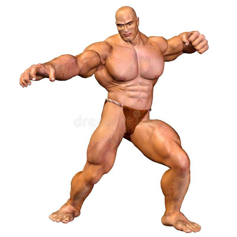 ανθρώπινο άτομο σωμάτων μυϊ&ka απεικόνιση αποθεμάτων